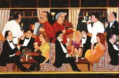 Guy Buffet -- Venice Simplon-Orient-Express -- The Bar Car