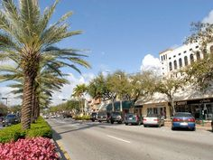 Miracle Mile Forms The Center Of C Gables Small Commercial District Pedestrian