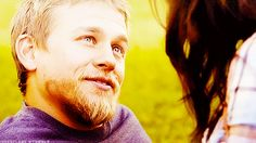 Pin for Later: 38 Sexy Reasons We Miss Charlie Hunnam on Sons of Anarchy When he totally loves Tara. I know, it's hard to watch.