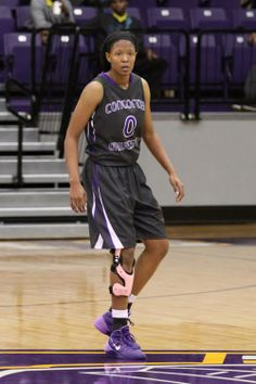 CTX Women's Basketball (road) - anthracite uniform with purple numbers/letters, outlined in white, and purple/white trim
