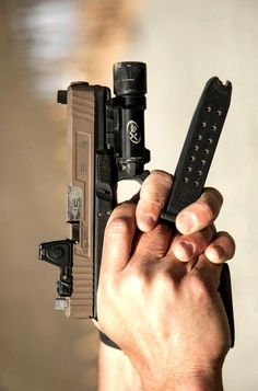 Salient Arms International Glock 17 Tier Two with bead-blasted, fluted/matched-fit barrel and recessed RMR Cut & sight.