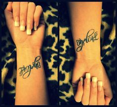 "It says ""Family"" one way and ""One Love"" the other. What a great idea! Love!!"