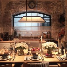 Habitually Chic | Kitchen goals at @ralphlaurenhome. #rlhome #hoxton...