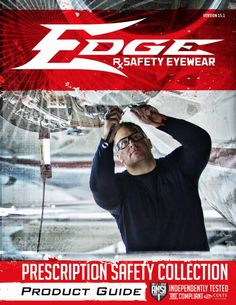 f83b3180389 Edge Eyewear  Edge Rx Safety Eyewear - We can customize our safety glasses  to fit
