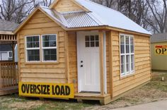 Showcase Sheds Tiny House in Northwest AR. this one is 200 sq feet, and fully finished with kitchen and bath.  16,000 to 26,000.
