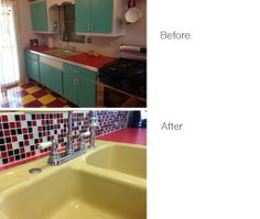 Glass Mosaic Tile Backsplash Red Black 1x1 is colorful, affordable, and  made with high