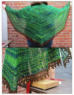 Ravelry: There Be Dragonflies Shawl pattern by Rosi Garmendia
