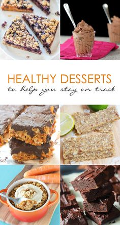 6 Healthy Desserts to Help You Stay on Track | Our Holly Days