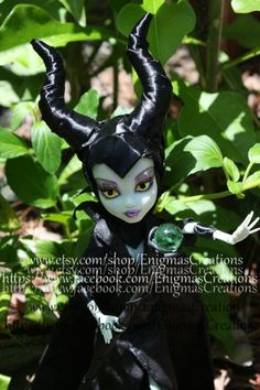 Maleficent Monster High. $60.00, via Etsy.
