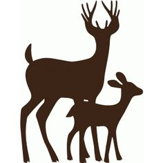 Silhouette Design Store - Search Designs : deer