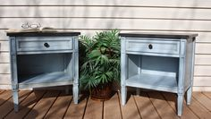 Painted Drexel Nightstands