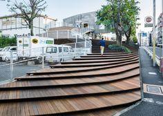 Kengo Kuma utiliza una gran escalera para transformar un almacén de Tokio en una tienda - Noticias de Arquitectura - Buscador de Arquitectura