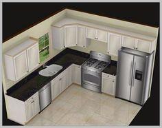 cabinets for small kitchens designs. 6 Creative Small Kitchen Design 20 Unique Ideas  Consideration design