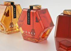 Honey Packaging Concept by Maksim Arbuzov   Inspiration Grid   Design Inspiration