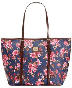 Dooney & Bourke Cabbage Rose Shopper - Dooney & Bourke - Handbags & Accessories - Macy's