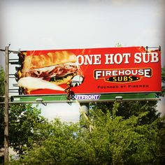 Firehouse subs is keepin' it hot!