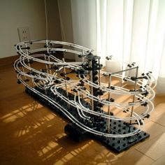 From Ron: Spacerail Marble Rollercoaster (Die-cast toys)