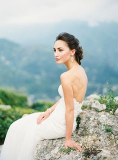 Old World Glamour in Ravello ✈ Styled Shoot in Italy | Fly Away Bride