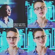 """If I'm going to be defined, it's going to be by my victories and my losses. No one else's"" - Kara Danvers #Supergirl"