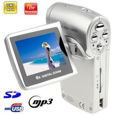 536N,+3.1+Mega+pixels+8X+Zoom+Digital+Camera+with+2.0+inch+TFT+LCD+Screen