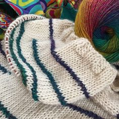 One of my most well-loved and well-worn projects is last year's Cosy Colourblock Shawl (find the free pattern here ). Since knitting it I ...