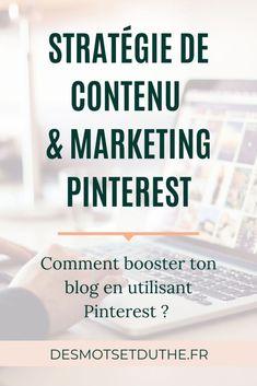 Comment augmenter le trafic de son blog pro ? En mettant en place une stratégie Pinterest ! Le marketing Pinterest complète parfaitement une stratégie de contenu et va t'aider à booster le contenu de ton blog. Faire connaitre son blog pro en utilisant Pinterest, c'est une stratégie de communication qui va porter ses fruits. Découvre dans cet article mes conseils de pro pour aligner ta stratégie de contenu avec ta présence sur Pinterest. #marketingdecontenu #marketingpinterest…