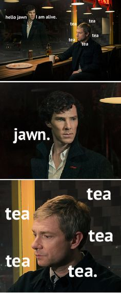 tea, tea, tea, tea... (Don't think these will ever get old...)-------------OMG