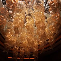 #Decorative #lights on the ceiling of the libby of #Solaire #Resort #Hotel in #Pasay City