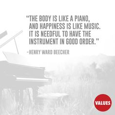 An inspirational quote by Henry Ward Beecher from Values.com