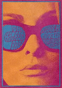 Monica said: This summer there was a FABulous exhibit of Psychedelic Posters of the Rock Era at the Toldeo Museum of Art. Rock Posters, Band Posters, Concert Posters, Graphic Design Typography, Graphic Design Illustration, Graphic Art, Vintage Artwork, Vintage Posters, Wes Wilson