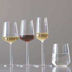 Iittala: Essence White Wine Glasses, Finland, New Homes, Detail, Tableware, How To Make, Accessories, Design, Dinnerware