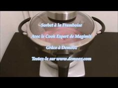 Sorbet à la Framboise - YouTube