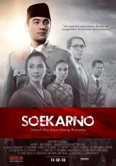 Soekarno - the film, opening 11 December 2013 in Indonesia. Language: Bahasa Indonesia. Stars Ario Bayu in the lead role. Directed by Hanung Bramantyo.