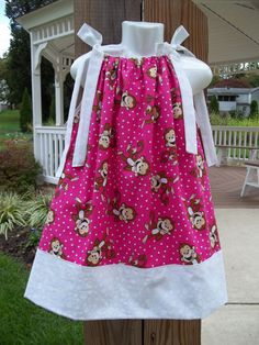 monkey dress 1st  Birthday Party polka dot luau by GinaBellas1, $29.50