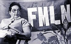 FMLN commander Ana María, considered to be an icon of revolutionary women in Latin America