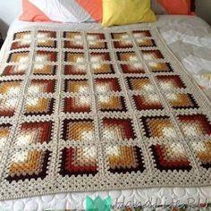 Transcendent Crochet Solid Granny Square Ideas That You Would Love Ideas : . Transcendent Crochet Solid Granny Square Ideas That You Would Love Ideas : Crochet Granny Square Mitred Granny Squar. Crochet Afghans, Crochet Motifs, Crochet Quilt, Crochet Blocks, Afghan Crochet Patterns, Crochet Home, Free Crochet, Knitting Patterns, Crocheted Blankets