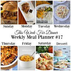 Weekly Meal Planner 17