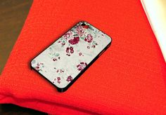 Floral Texture Rose Flower iPhone 4 iPhone 4S Case by caseboy, $15.79