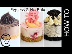3 EASY Mini Cheesecakes No Bake Eggless Chocolate Raspberry Oreo Mini Desserts, Eggless Desserts, Cookie Desserts, Dessert Recipes, Mini No Bake Cheesecake, Chocolate Cheesecake, Classic Cheesecake, Homemade Cheesecake, Mini Cheesecakes