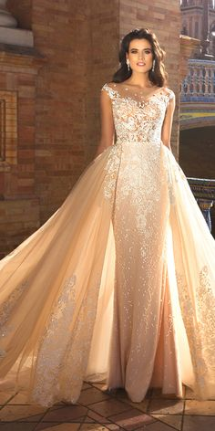 Crystal Design 2017 Wedding Dresses Collection ❤ See more: http://www.weddingforward.com/crystal-design-2017-wedding-dresses-collection/ #weddings #dresses #crystaldesign
