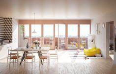 LAN . EURONANTES complex . NANTES  (6) Home Projects, Divider, Windows, Furniture, Home Decor, Nantes, Woodwind Instrument, Room Interior, Balcony