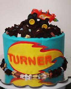 blaze and the machine catch that cake