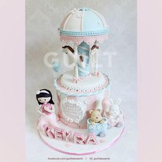 Carousel for Keyra - Cake by Guilt Desserts