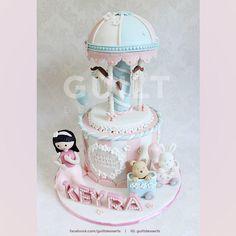 Carousel for Keyra - Cake by Guilt Desserts