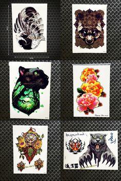 11d155b6e69cf 1PC Harajuku Water Transfer Temporary Tattoo Body Art Carp Designs Fake  Tattoo Stickers GHB 251 Black Spray Tatoo Self Adhesive-in Temporary Tattoos  from ...