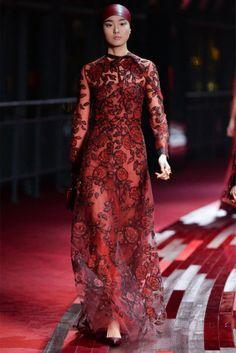 Valentino Shangai 2013. #HarpersBazaarUK