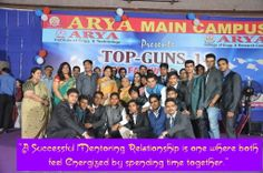 Arya Main Campus Organised Farewell Party for 2014 Batch students to Bid Good Bye and wish Success in their Professional Journey ahead.