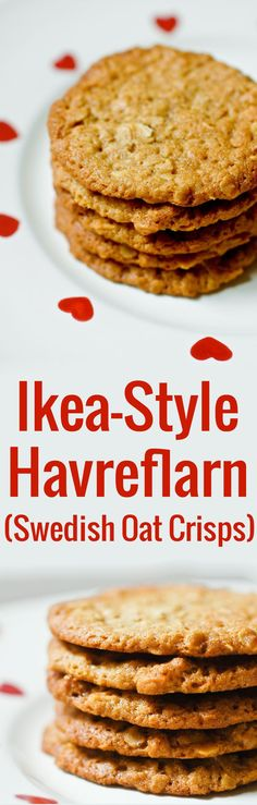 Swedish oatmeal cookie recipe