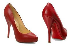 perfect red pumps