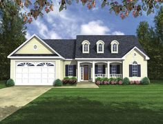 HPG-1752B-1-The Castle Rocke is a 2471 sq. ft./ 3 bedroom/ 2 bath house plan that you can purchase for $750.00 and view online at http://www.houseplangallery.com/HPG-1752B-1.